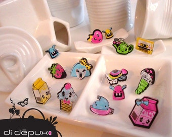 Sale KAWAII earrings ONE pair of your choice