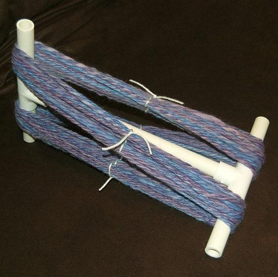 PVC Niddy Noddy, Niddy Noddy, Immersible Niddy Noddy, Set the Twist on your Handspun Yarn or use to Skein Hand Dyed or Hand Painted Yarn