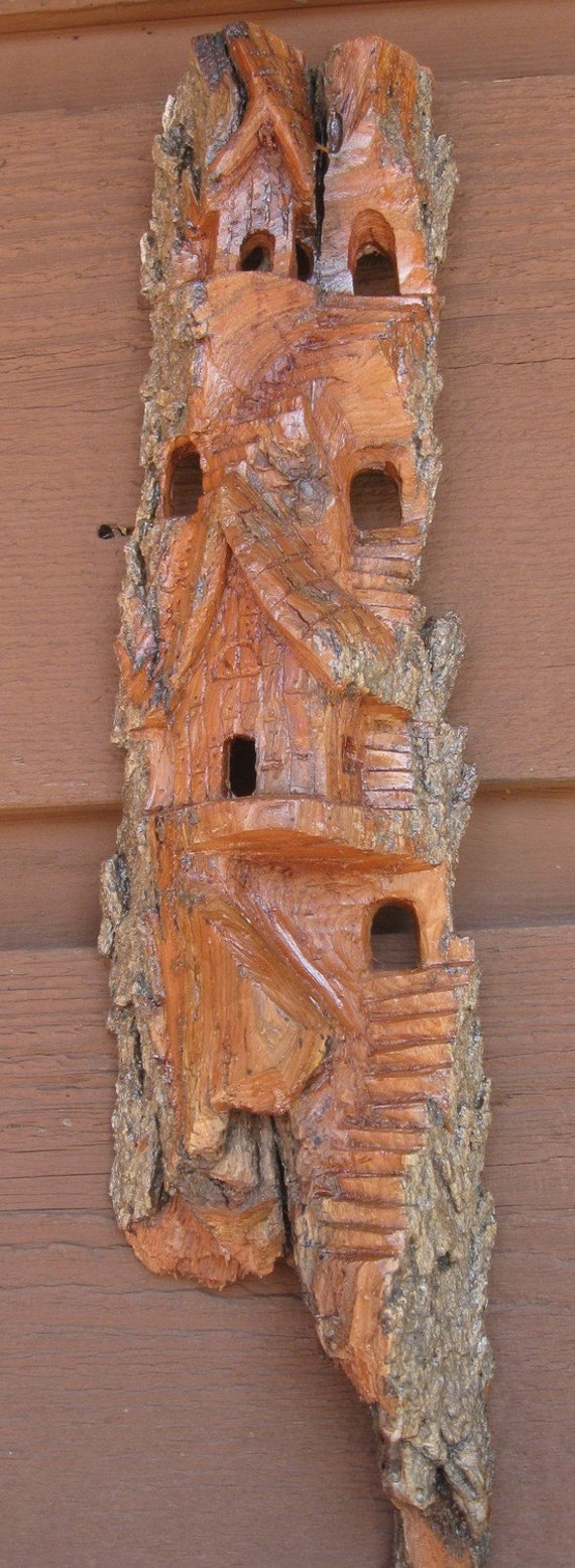 Clearance sale cottonwood bark carving