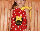 NOW on SALE 5.00 OFF  Minnie Mouse Pillowcase Dress Very few are available.