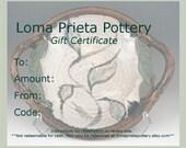 Gift Certificate-75 Dollar
