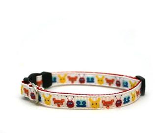 "3/8"" dog collar Mr. Robot buckle dog or cat collar"
