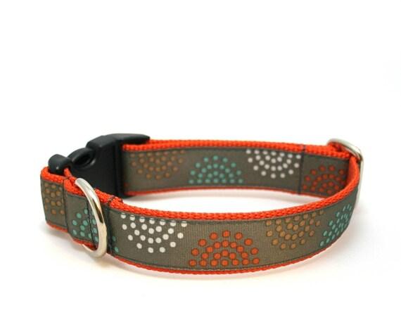 "1"" dog collar Bristol buckle or martingale dog collar"
