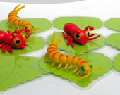 3D Tic Tac Toe...Bugs...Caterpillars and Ants....greater starter game for little ones