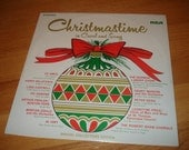 Vintage Vinyl LP Christmastime in Carol and Song SEALED 1968