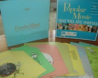 Vintage Popular Music That Will Live Forever 10 Vintage Vinyl LPs