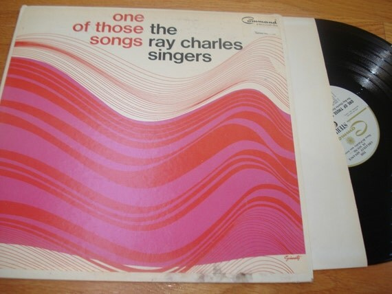 Command Records One of Those Songs The Ray Charles Singers Vintage Vinyl LP