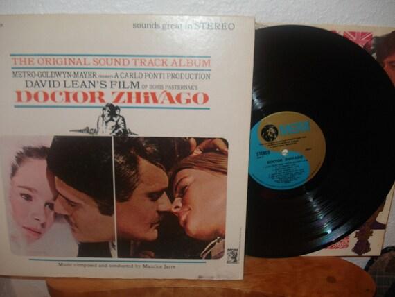 The Original Sound Track Album Doctor Zhivago Vintage Vinyl LP Stereo