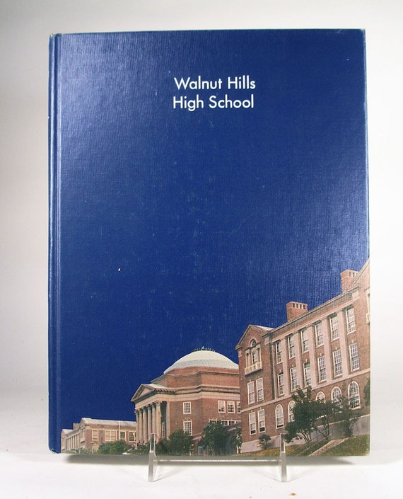 Vintage 1975 Walnut Hills High School Cincinnati Ohio Yearbook