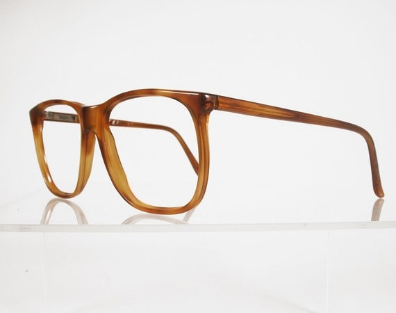 Glasses Frames For Blondes : Vintage FOLIO Blonde Tortoise Hornrim Eyeglass Frames