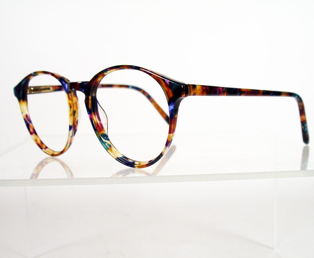 ANNE KLEIN II Multi Colored Tortoise Eyeglass Frames