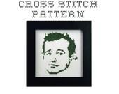 DIY Bill Murray  - .pdf Original Cross Stitch Pattern - Instant Download