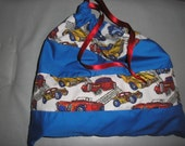 SALE SALE Racing car drawstring library bag SALE SALE