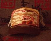 Custom Hand Painted Trucker Hat