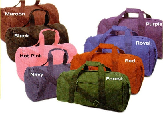 Mens or Boys 18 INCH Duffle Bag Personalized Free