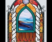 Stained Glass Book.  Curliosity, The Stained Glass Artistry of M. Skip Vasquez