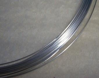 22 ga. 3 ft. ARGENTIUM STERLING SILVER Wire Round, Dead Soft Anti Tarnish