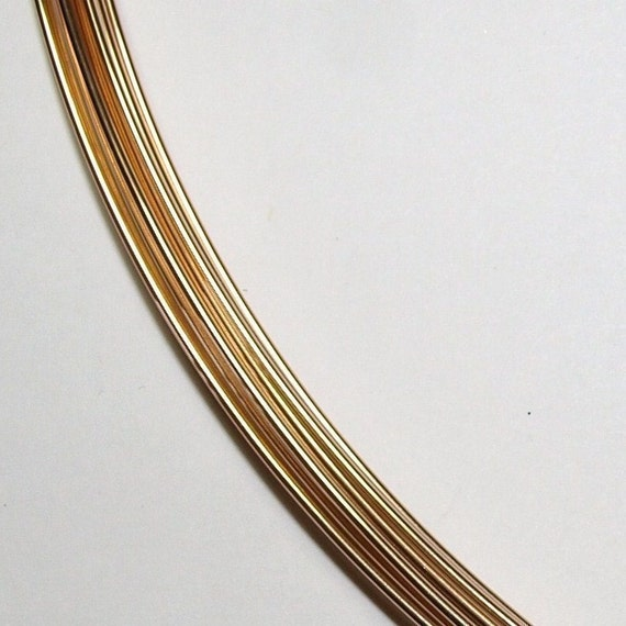 Reserved for Kahina 21 ga. 50 ft.  14kt GOLD FILLED Wire Round, Half Hard Perfect for making earwires