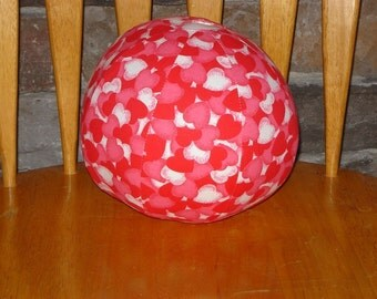 Balloon Ball with Drawstring Pouch-Hearts (Ball 23)