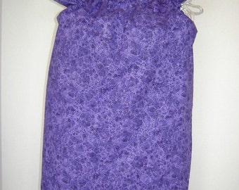 Gift Wrap Bag-Medium-Purple Sparkle (GWB-1M)