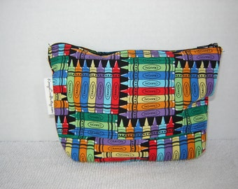 Zipper Pouch with Tissue Cozy-Crayons (Zip 96-G)