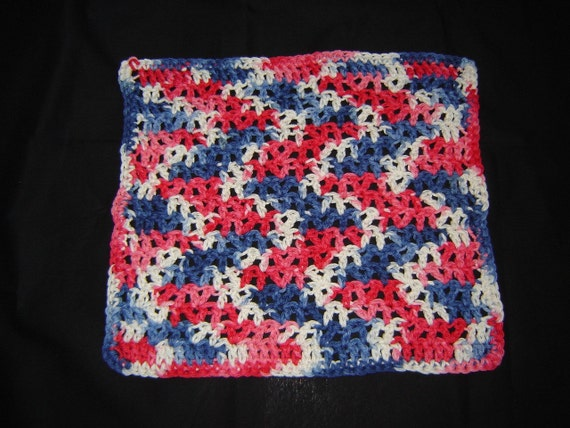 Crochet Dishcloth-Faded Glory