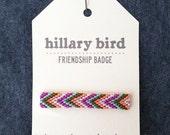 friendship badge LG olive