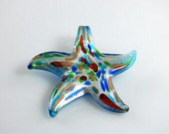 Starfish Glass Pendant