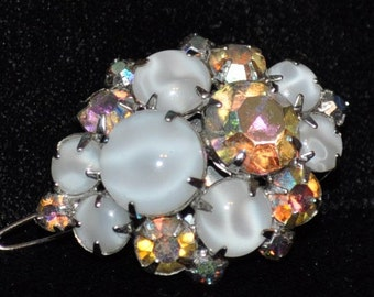 Vintage Recreated Aureolas Borealis Barrette Hair Clip