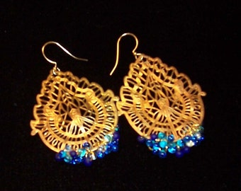 Vintage Raindrops Earrings