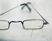 Vintage glasses - Still Life photo, rustic Fine Art Photography for the office and home decor - 8x10