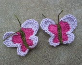 Crochet Butterfly Accessories