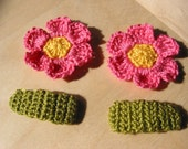 Crochet Snap Clips -Small