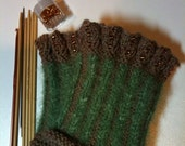 Women's Wood Nymph Wrist Warmers - Reserved for Owlmyst