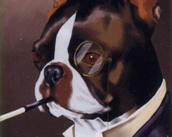 Boston Terrier -  magnet two pack