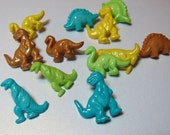 Assorted Dinosaurs Novelty Buttons