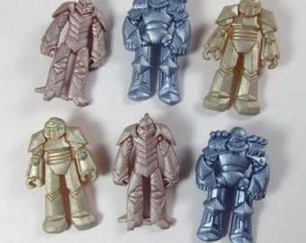 Transformer - Like Robot Novelty Buttons