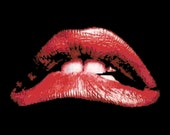 Rocky Horror Lips PDF Cross Stitch Pattern