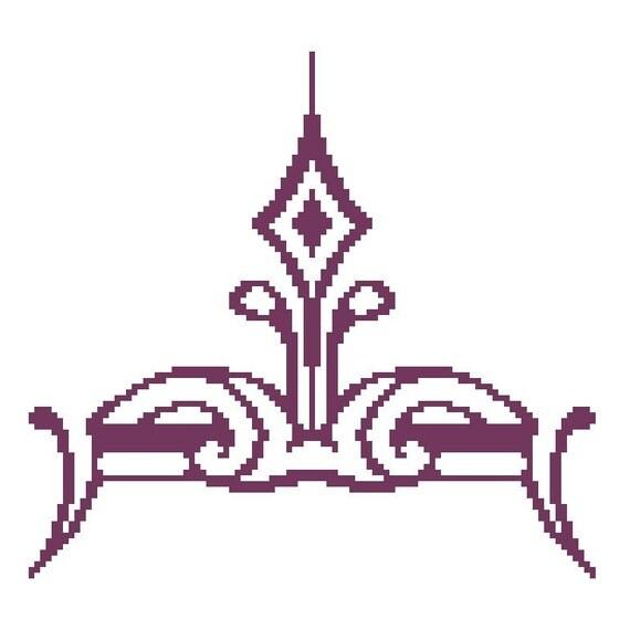 A Diamond Sprouts PDF Cross Stitch Pattern