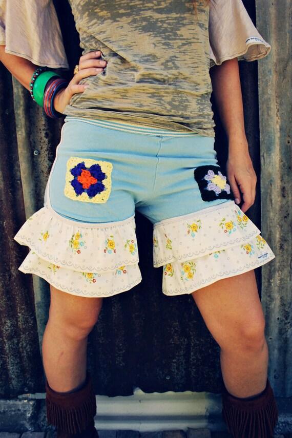 Poor Pitiful Pearl Ruffle Shorts