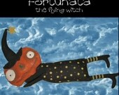 Primitive Halloween Fortunata the Flying Witch Doll Digital PDF pattern
