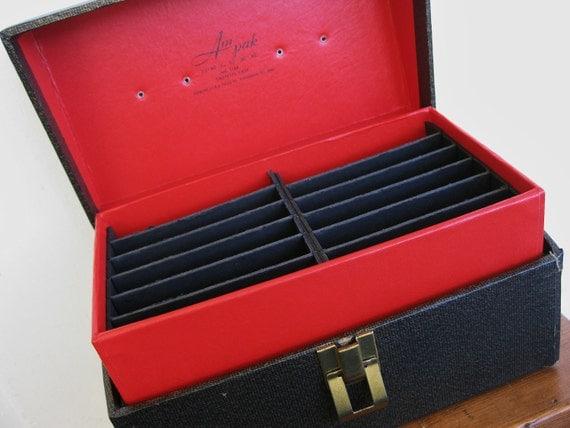 Vintage Am Pak Deluxe Cassette Case Tape Case Box