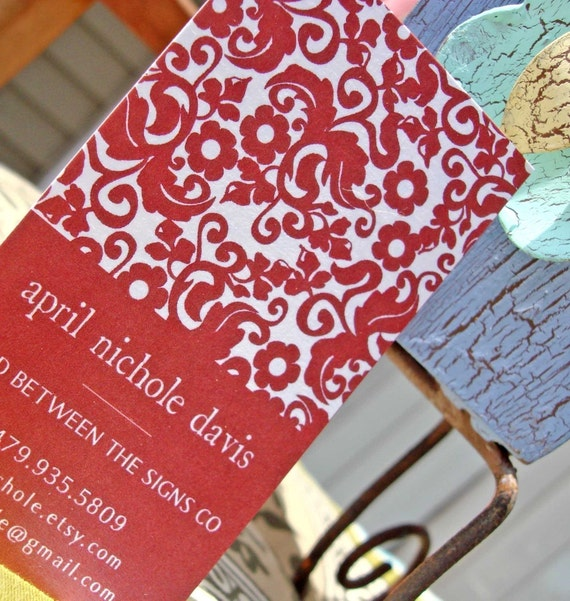 Baroque Calling Cards, Business Cards or Gift Tags (set of 30) Multiple Colors Available