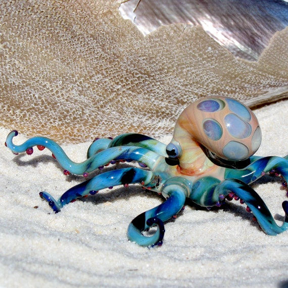Octopus Glass Sculpture