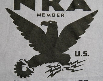 NRA SHIRT - for the economic crisis