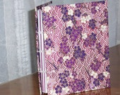 Handmade Blank Journal - Purple Petals - storybeader