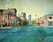 Mass Ave - 8x12 Altered Photograph