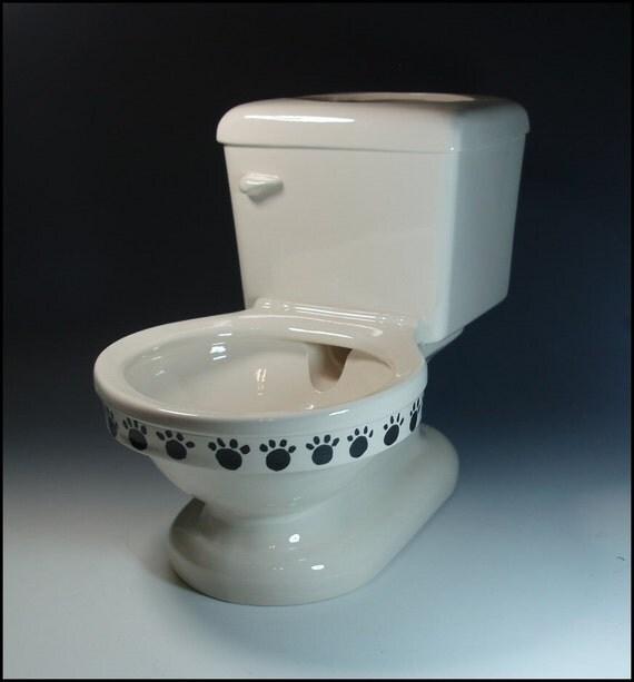 Pet Watering Toilet Bowl By Beadsbymavis On Etsy