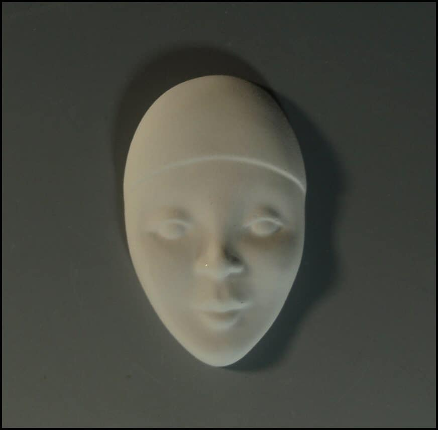 Ceramic Bisque Faces To Paint For Jewelry