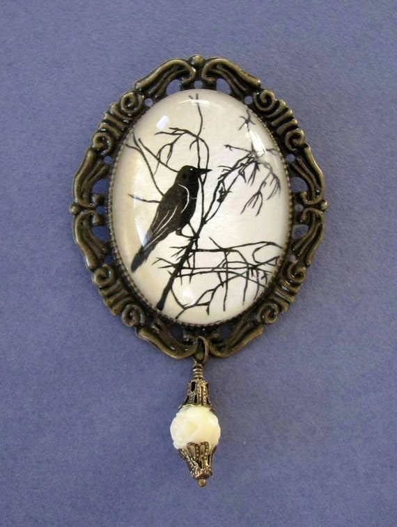 For the Love of Crows, No.1 Brooch